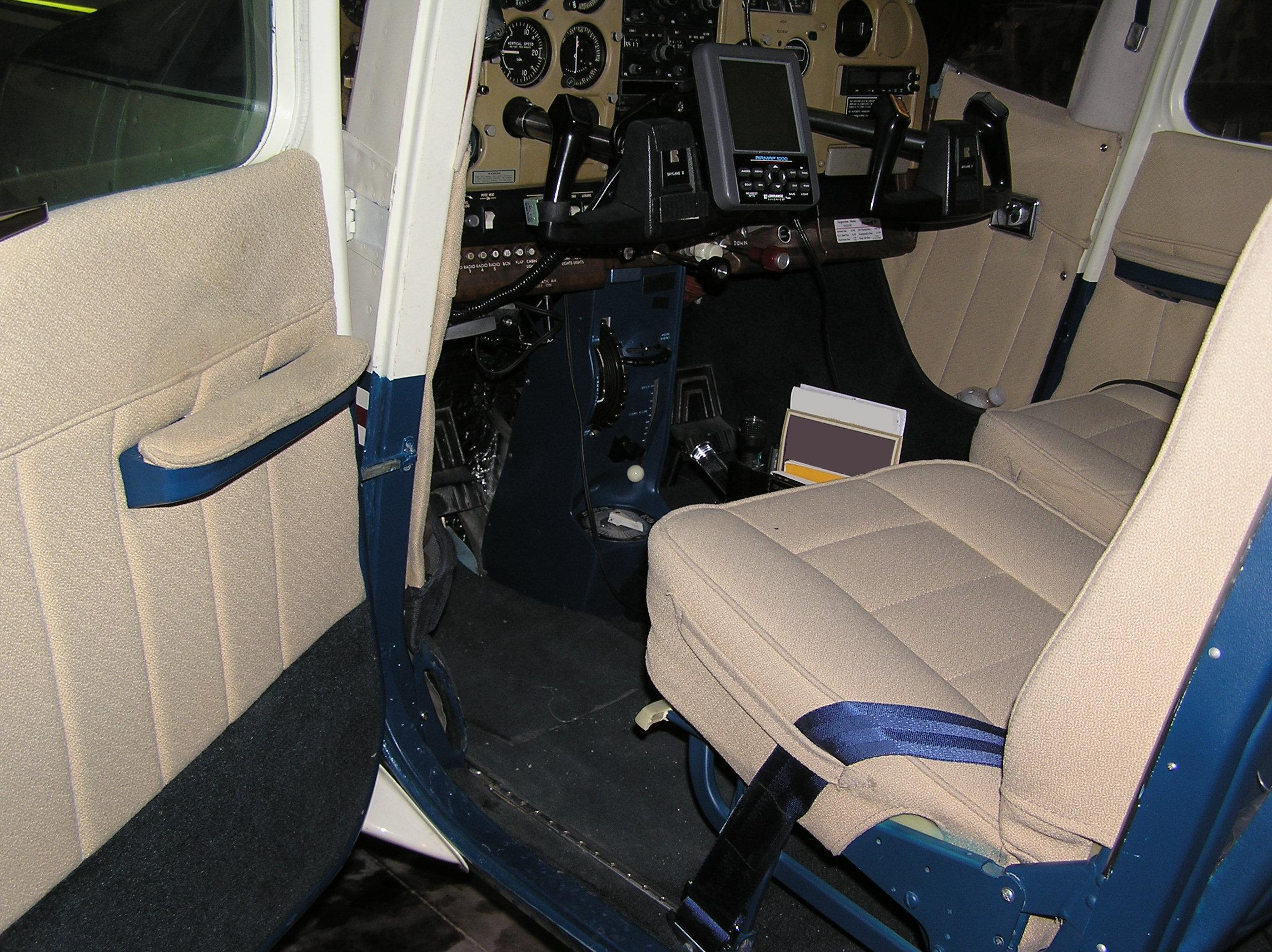Interior Was Done Recently (2003, At The Same Time As The Paint) In Airtex  Fabric, And Is In Very Good Condition.