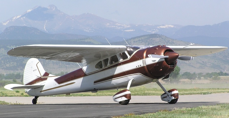 Larson Aircraft Sales: 1949 Cessna 195 Businessliner For Sale