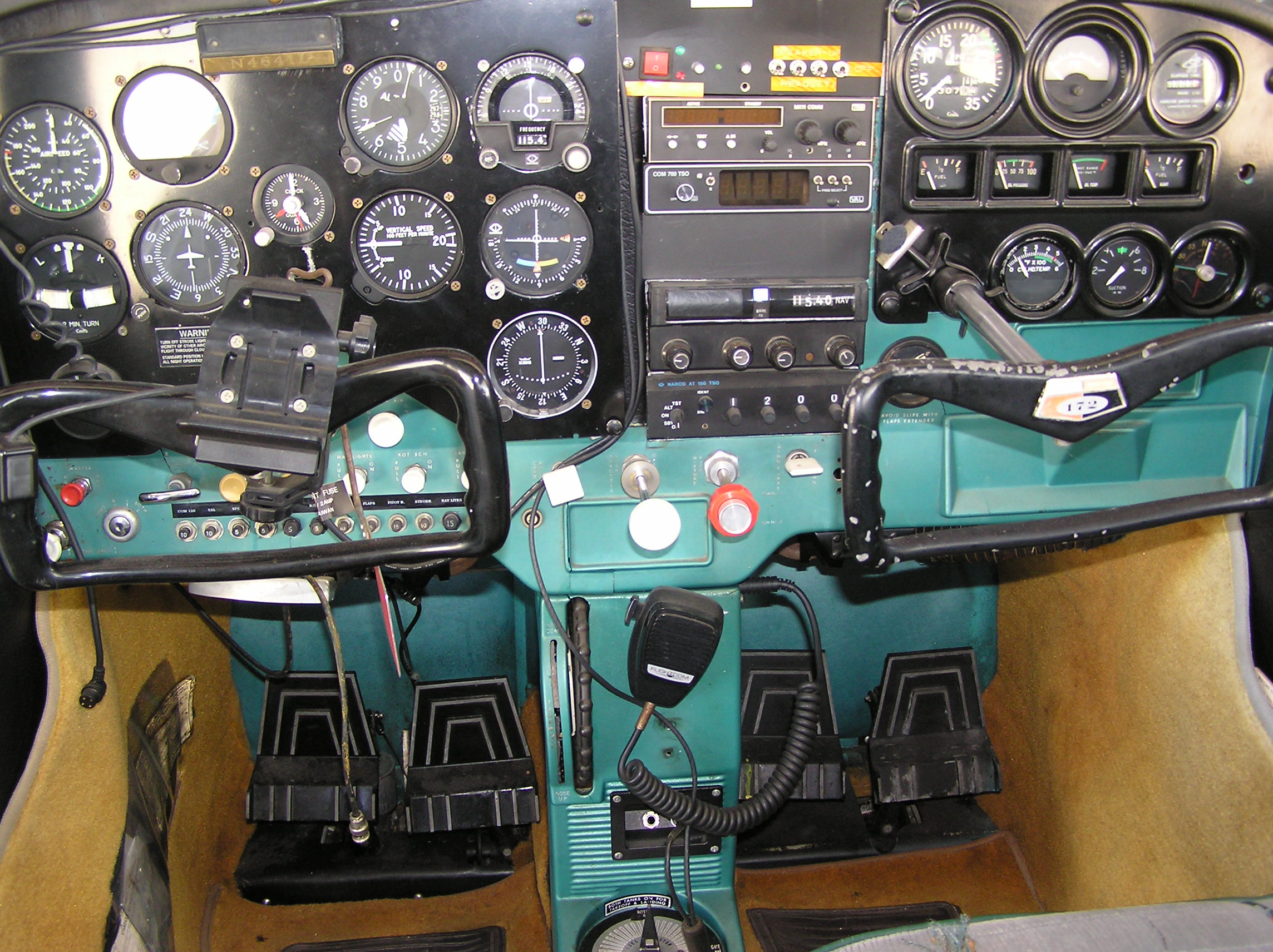 N4641L-20  Engine Diagram on