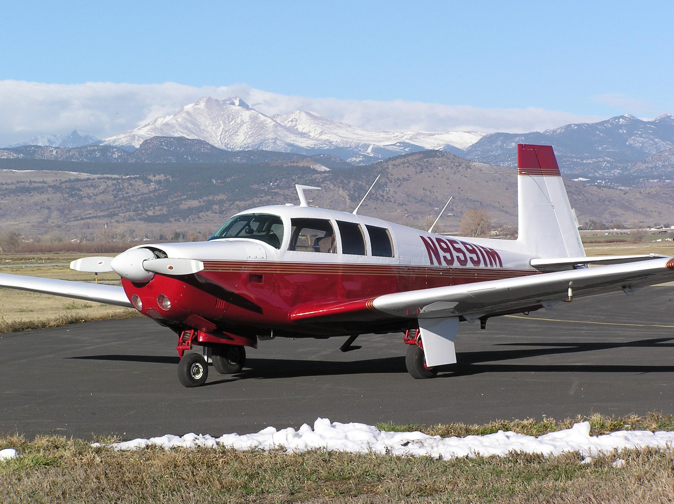 Mooney Larson aircraft sales: mooney turbo executive m20f
